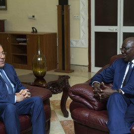 Meeting of SRGS with malian prime Minister in his office, Bamako 31 August 2015
