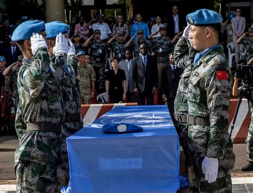 onu-minusma-soldats-armee-chinois-mort-hommage-funeraille
