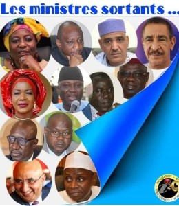 Mali: les 12 sortants du gouvernement